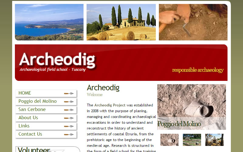 Archeodig - Archaeological field school Tuscany